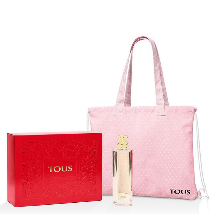 tous kaos eau de parfum 90ml + bolsa shopper