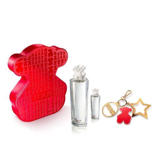tous eau de toilette 90ml tartan bear cofre regalo 3 piezas