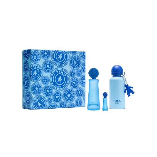 tous eau de toilette tous kids cofre azul regalo 3 piezas