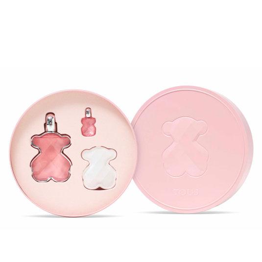 tous loveme eau de parfum 90ml cofre 3 piezas