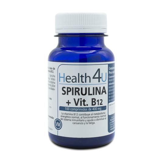 h4u espirulina 100 comprimidos de500mg