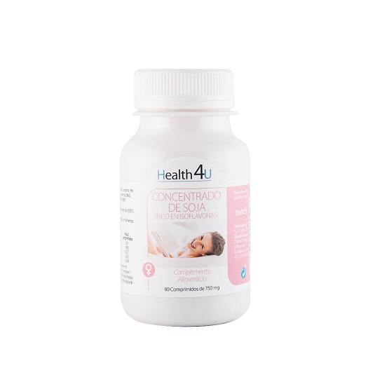 h4u isoflavonas de soja 750g 80 comprimidos