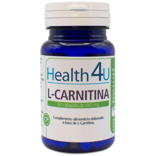 h4u l-carnitina 645mg 45capsulas