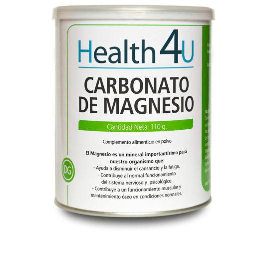 h4u carbonato de magnesio 110g en polvo