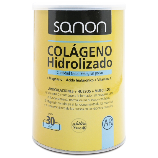 sanon colageno hidrolizado en polvo 360g