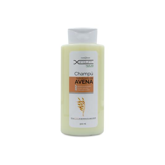 xensium nature champu extracto avena cabellos normales o delicados 500 ml.