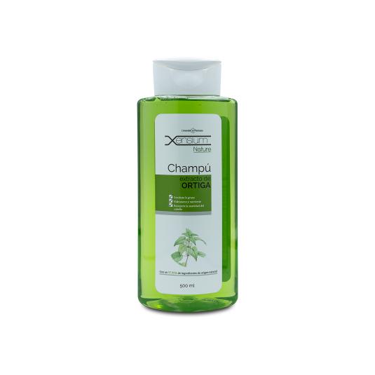 xensium nature champu extracto de ortiga para cabellos grasos 500ml