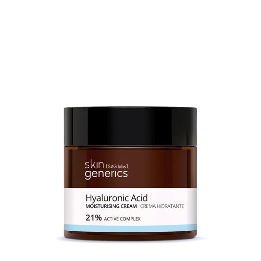 skin generics crema hidratante acido hialuronico 21% complejo activo 50ml