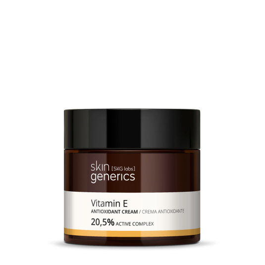 skin generics crema antioxidante vitamina e 20,5% complejo activo 50ml