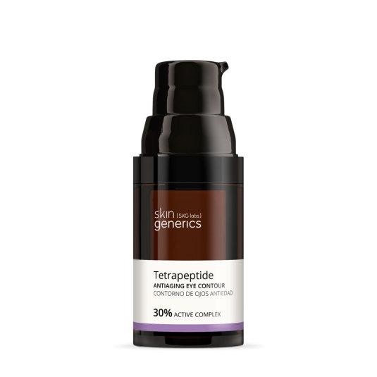 skin generics crema contorno ojos antiedad tetrapéptido 30% complejo activo 20ml