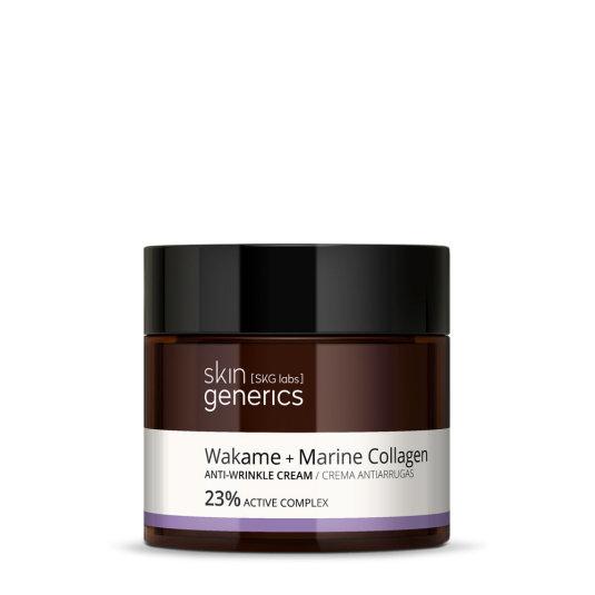 skin generics crema de noche antiedad wakame 23% complejo activo 50ml