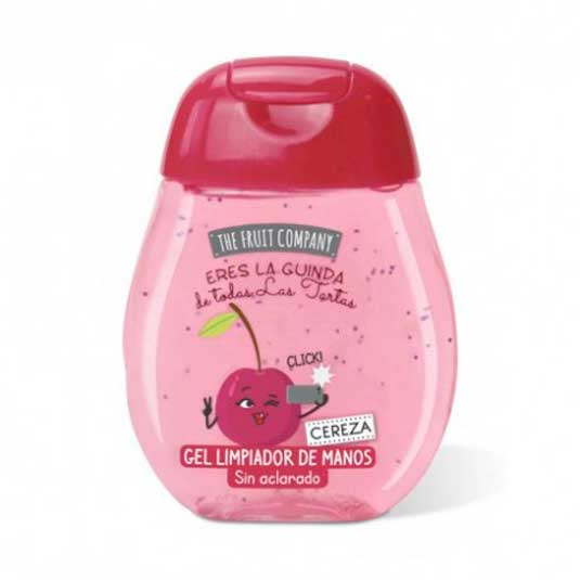 the fruit company gel limpiador de manos cereza 45ml