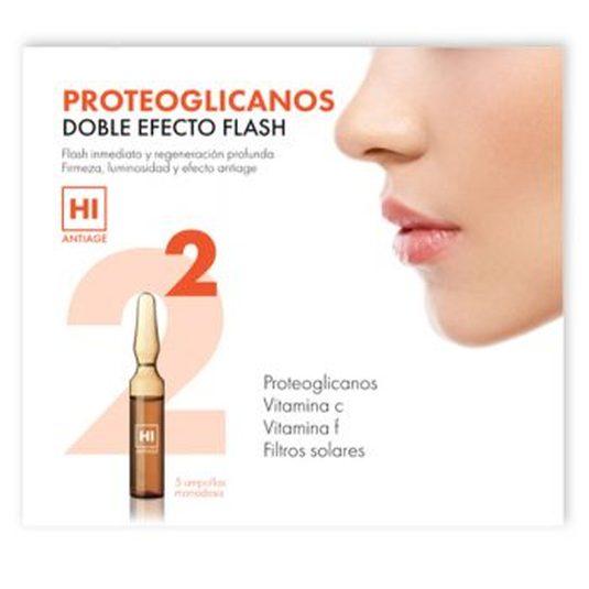 hi antiage proteoglicanos doble efecto flash ampollas 5 unidades