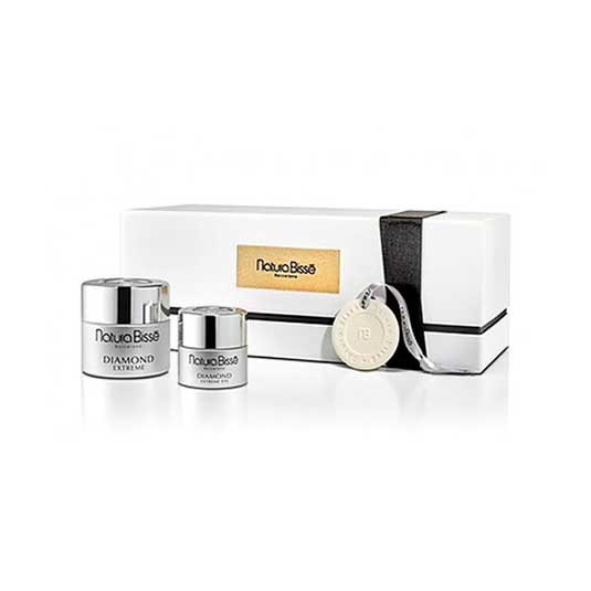 natura bisse diamond gel 50ml + diamond extreme eye 25ml set