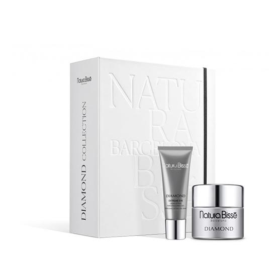 natura bisse diamond cream 50ml + diamond extreme eye 25ml