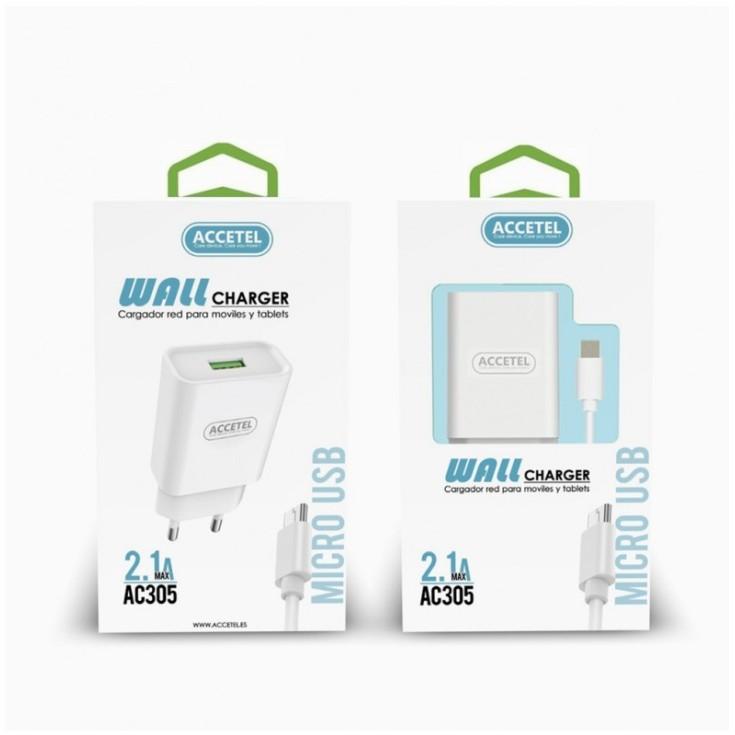 accetel cargador rapido iphone - tipoc 20w