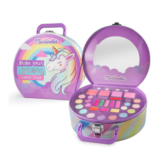 idc martinelia unicornio maletin grande de maquillaje infantil