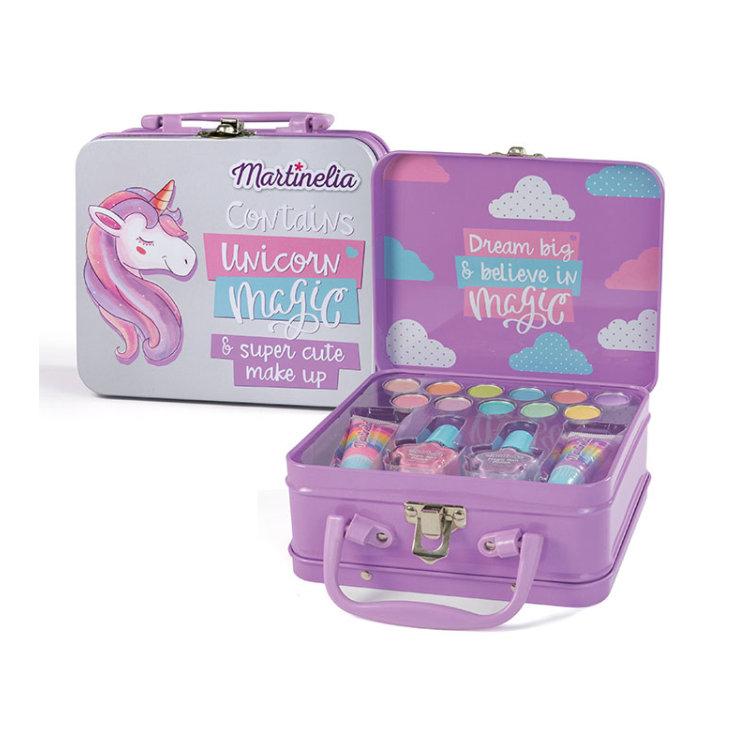 idc martinelia unicornio maletín mediano de maquillaje  infantil
