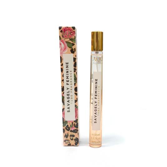 aqc fragrance travel size tube savagely feminine edt 35ml