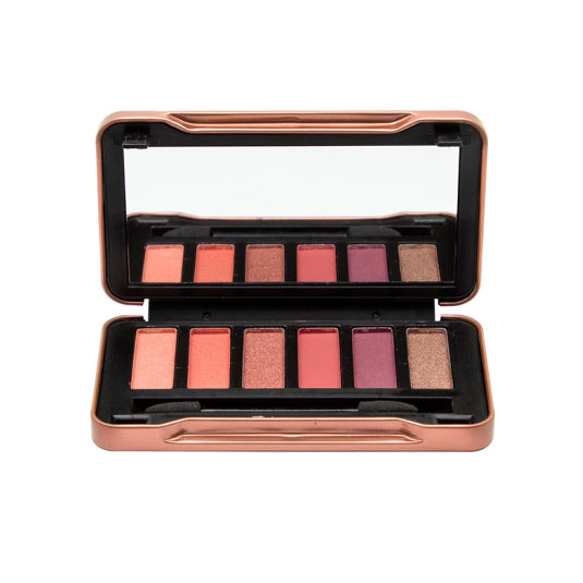 idc color earth paleta de 6 sombra de ojos