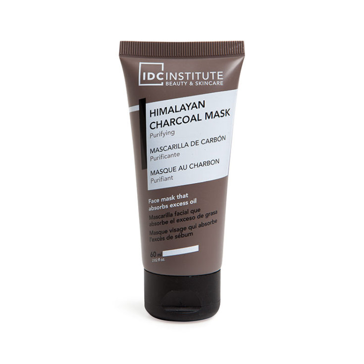 idc institute mascarilla facial de carbon purificante absorbe el exceso de grasa 60ml