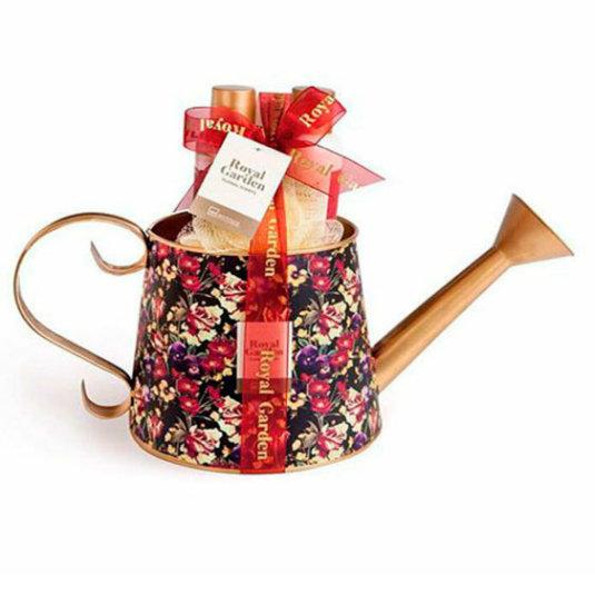 idc institute cesta de baño royal garden regadera 4 piezas