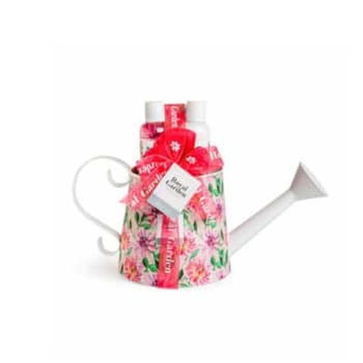 idc institute royal garden watering cesta de baño 4 piezas