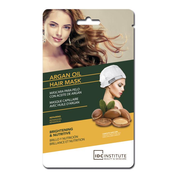 idc argan oil hair mask mascarilla capilar brillo y nutricion al aceite de argan 1 unidad