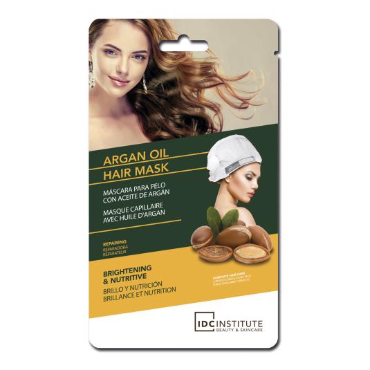 idc argan oil hair mask mascarilla capilar brillo y nutrición al aceite de argan 1 unidad