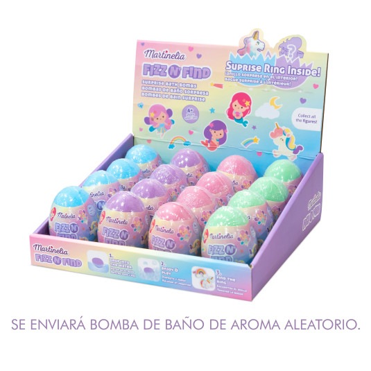 martinelia egg bath bomb 150gr