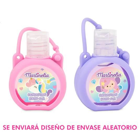 martinelia hand sanitizer gel higienizante formato bolsillo infantil 35ml