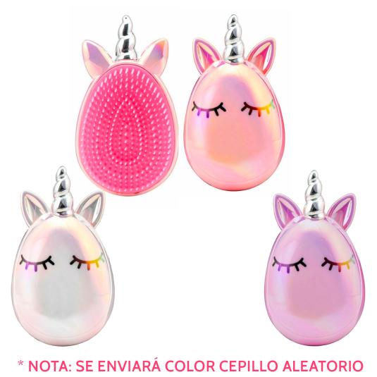 martinelia cepillo unicornio ovalado colores aleatorios