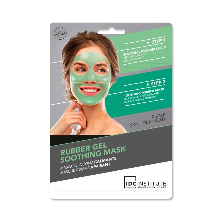idc rubber gel mask soothing mascarilla facial goma-calmante