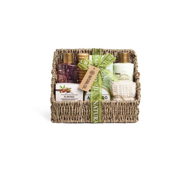 idc institute cesta de baño natural oil 7 piezas