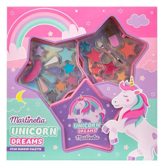 martinelia unicorn dreams star set maquillaje infantil