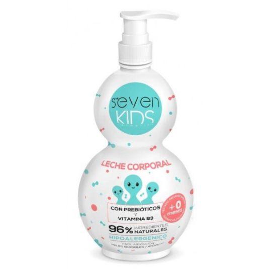 seven kids leche corporal prebioticos vit b3 400ml