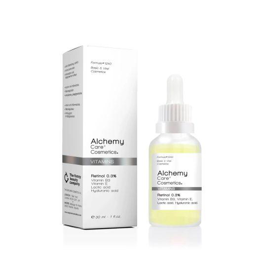alchemy serum vitamins retinol 0.3% 30ml