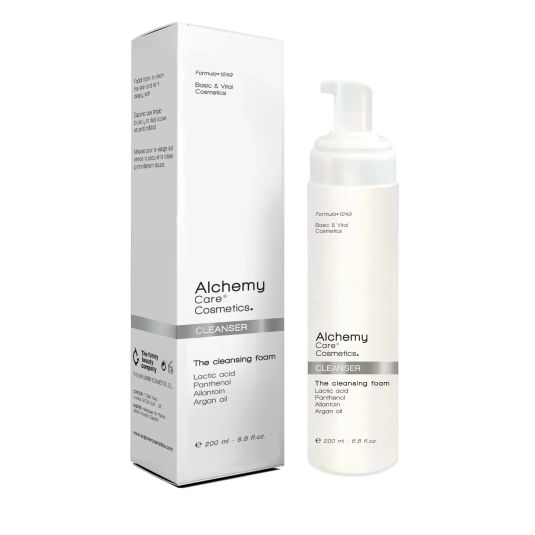 alchemy cleanser white mousse 200ml