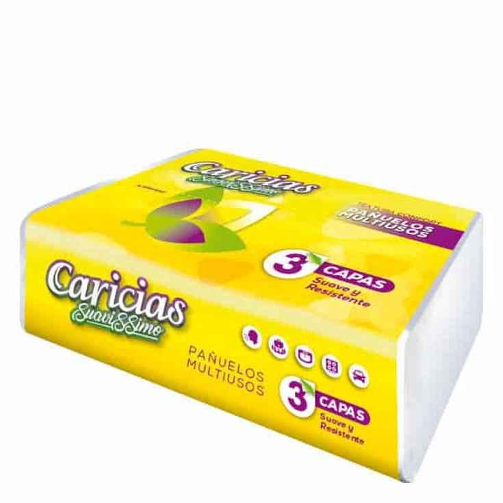 pañuelos caricias suavissimo 100 unidades