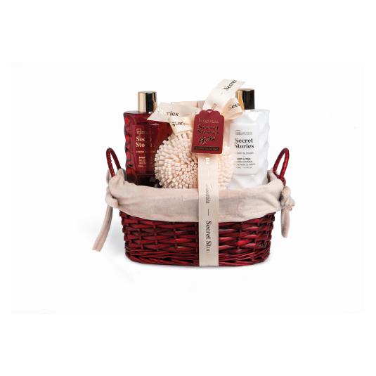idc inst. cesta de baño secret stories basket 4 piezas