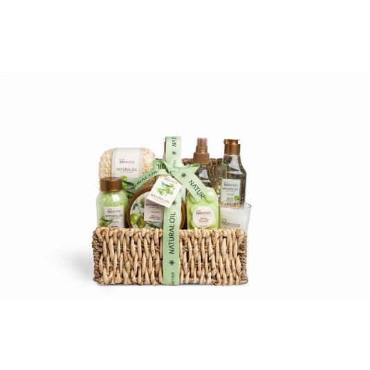 idc inst. natural oil basket 8 piezas