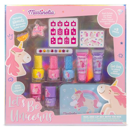 martinelia unicorn set maquillaje infantil