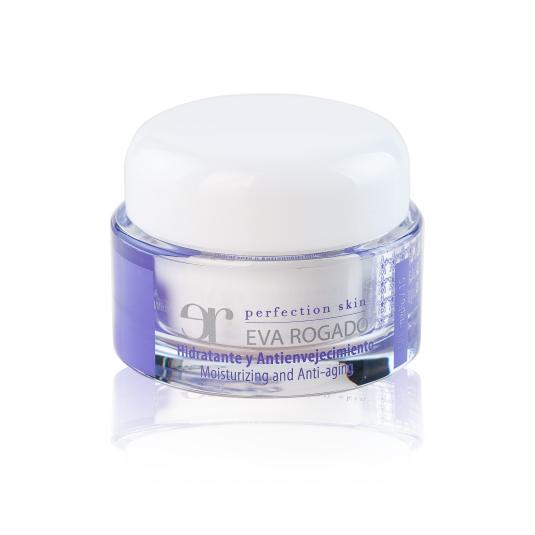 eva rogado crema hidratante y antienvejecimiento piel normal 50 ml.