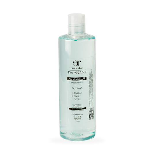 eva rogado agua micelar 400 ml.