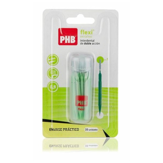 phb cepillo interdental flexi extrafino 20unds