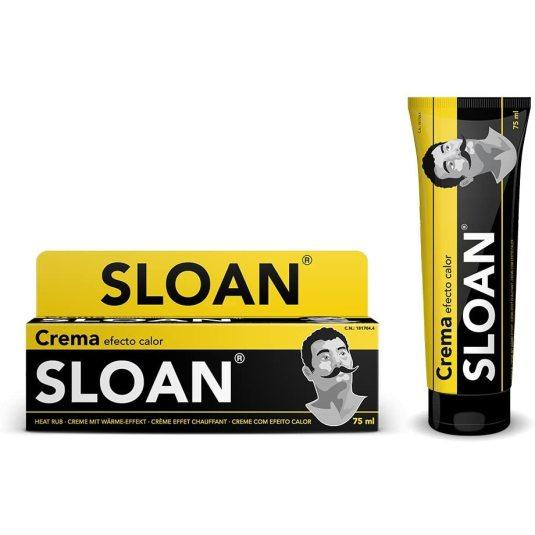 sloan original crema efecto calor tubo 75ml