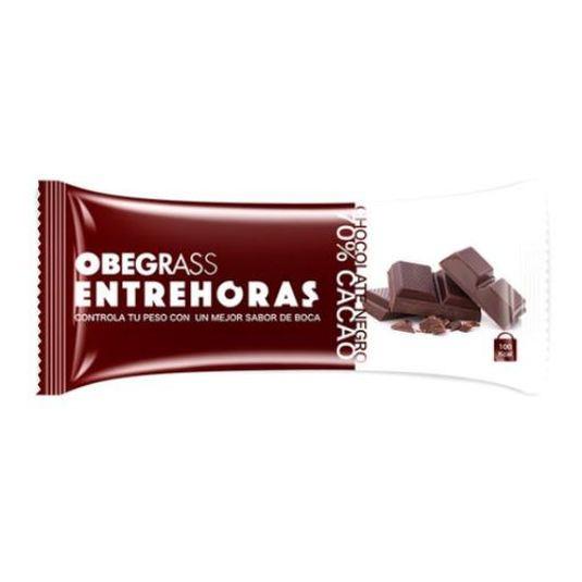 obegrass barrita chocolate negro