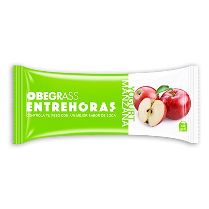 obegrass barrita yogurt y manzana