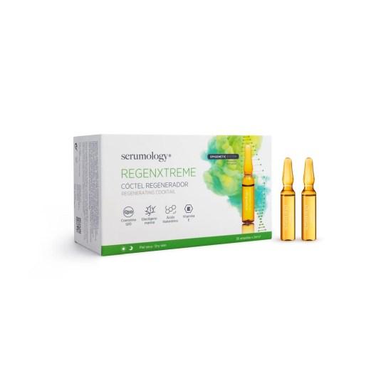 serumology regenxtreme serum coctel regenerador 30 ampollas x 2ml
