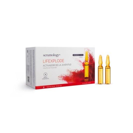 serumology lifexplode serum activador juventud 30 ampollas x 2ml